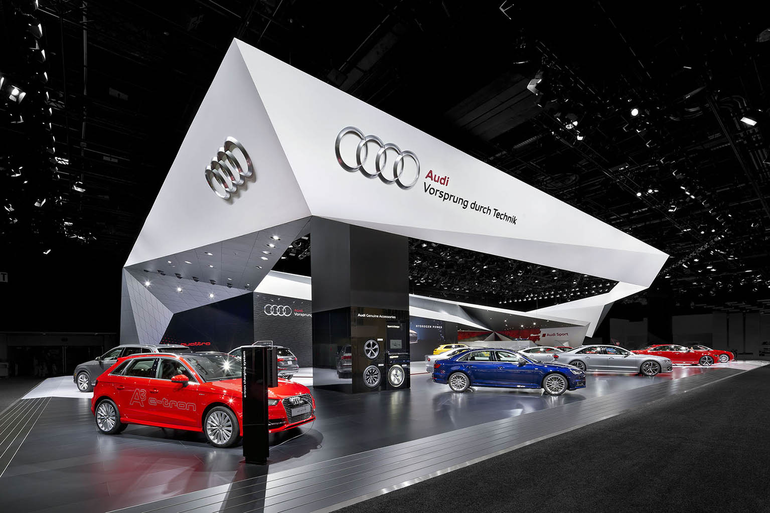 brand exhibition at CES Las Vegas and at NAIAS Detroit