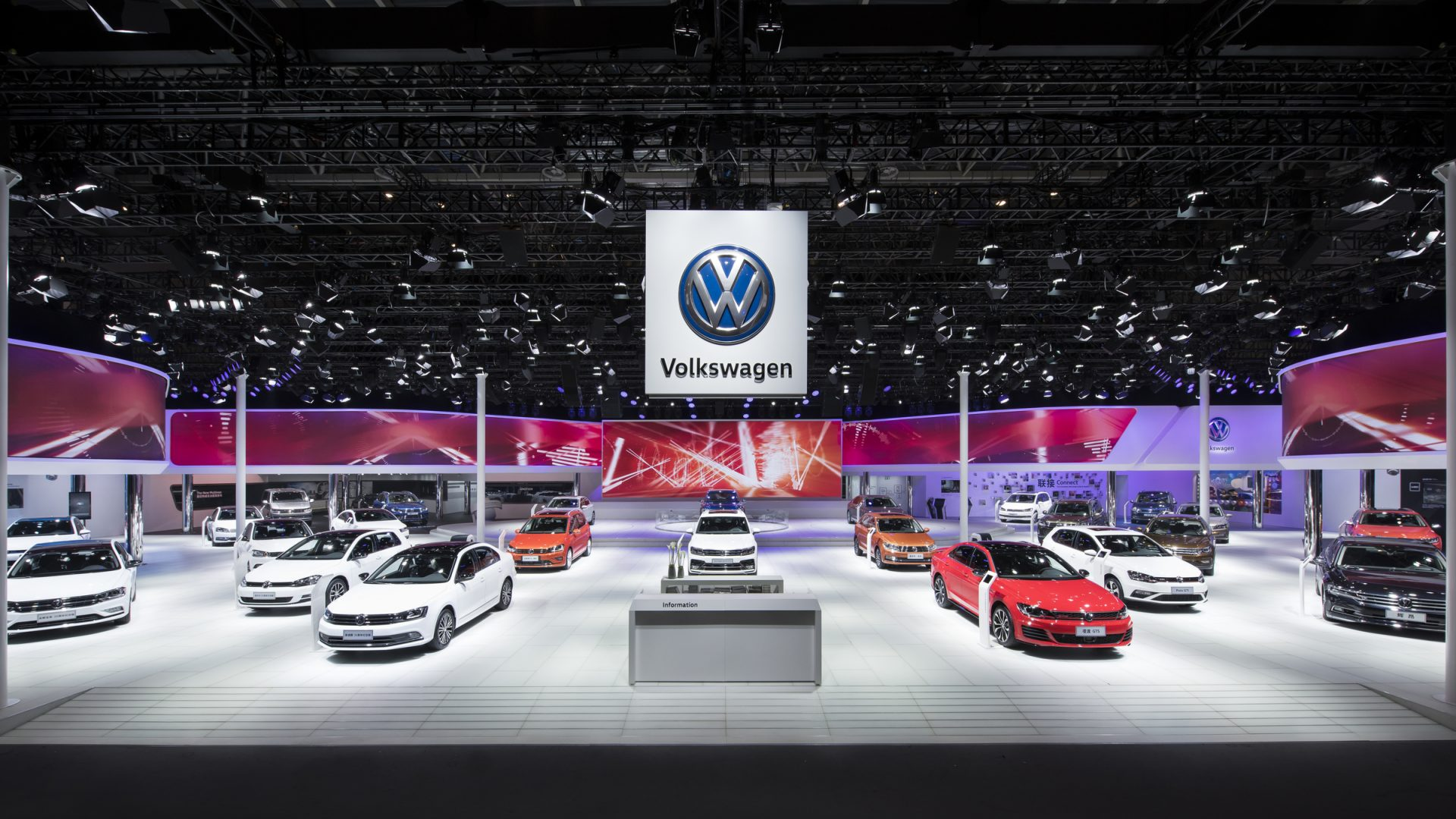 VW exhibition in China