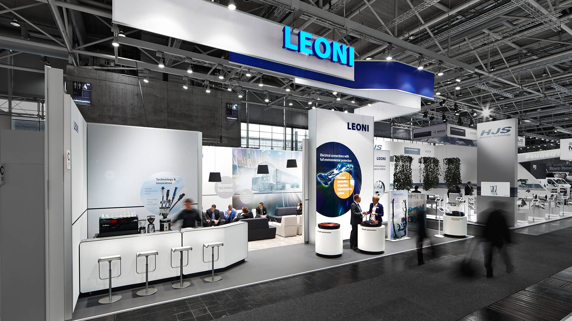 exhibition LEONI at the IAA