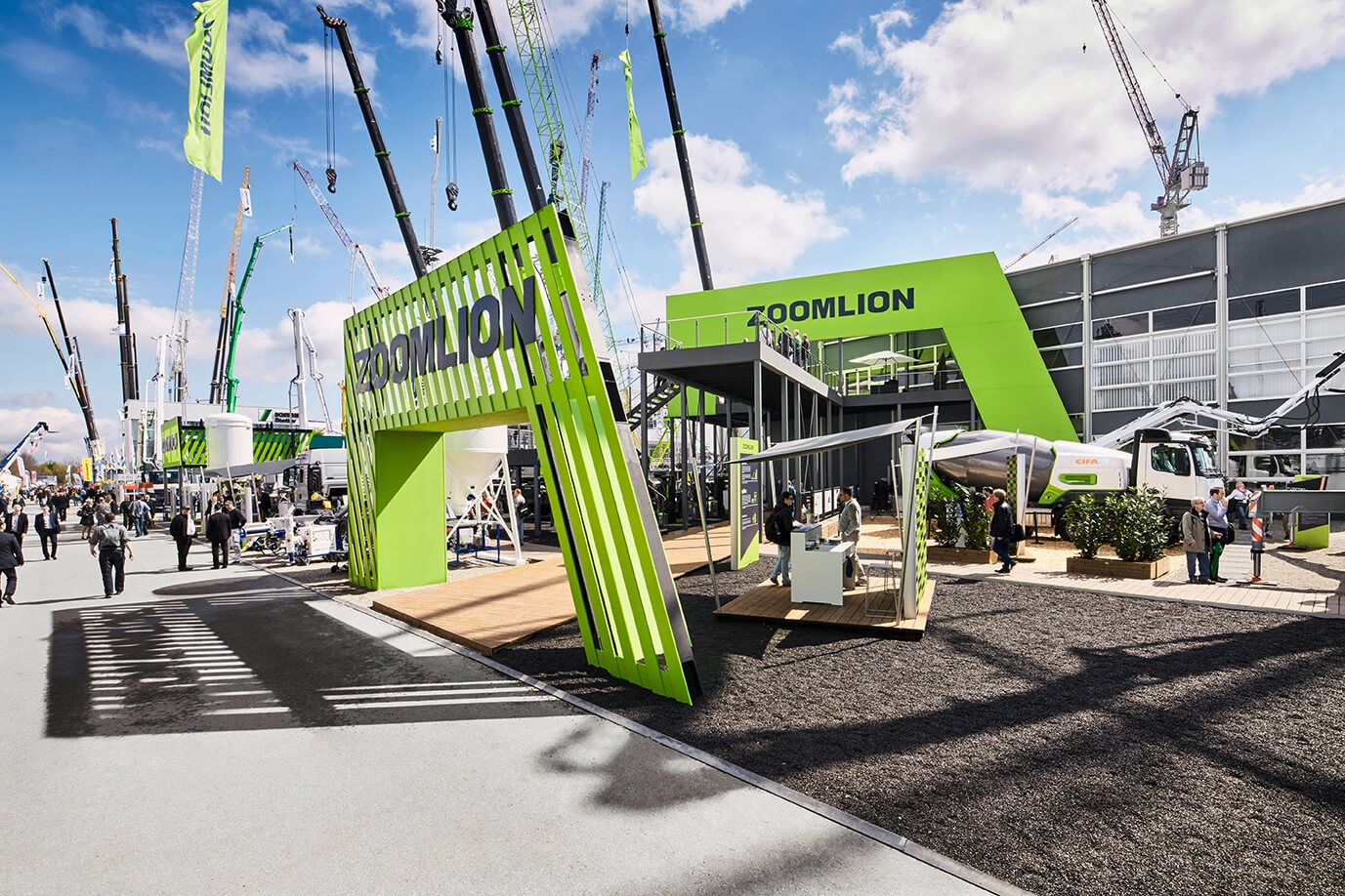 Zoomlion at the Bauma 2016