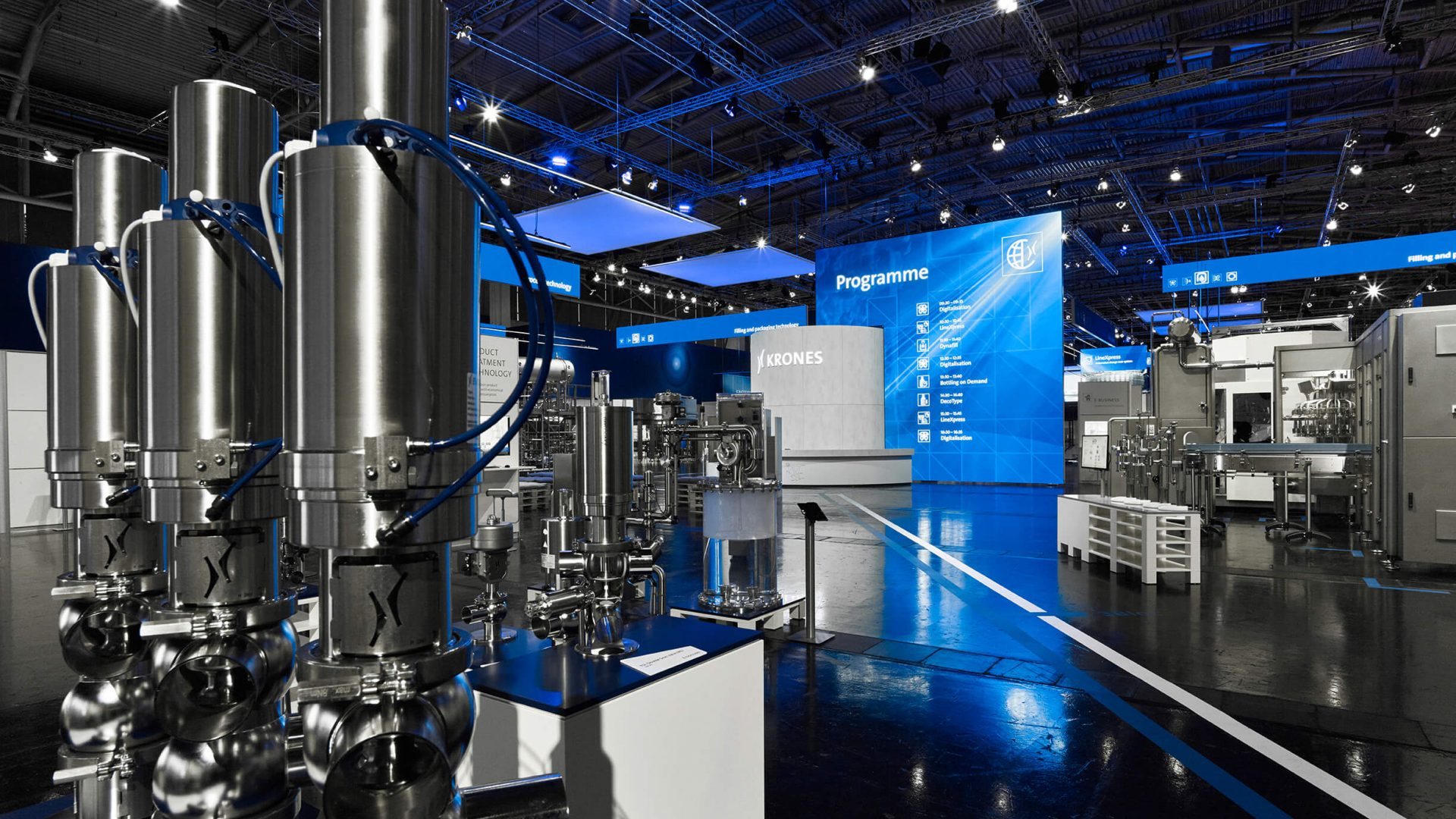 EXHIBITION FOR KRONES AT DRINKTEC 2017