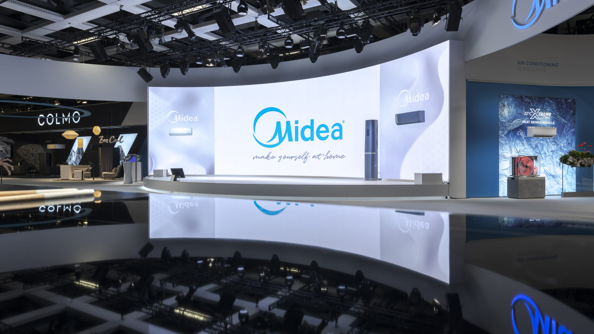 Midea-Booth – by ET GLOBAL
